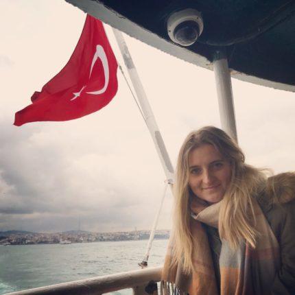 Agnieszka in Istanbul