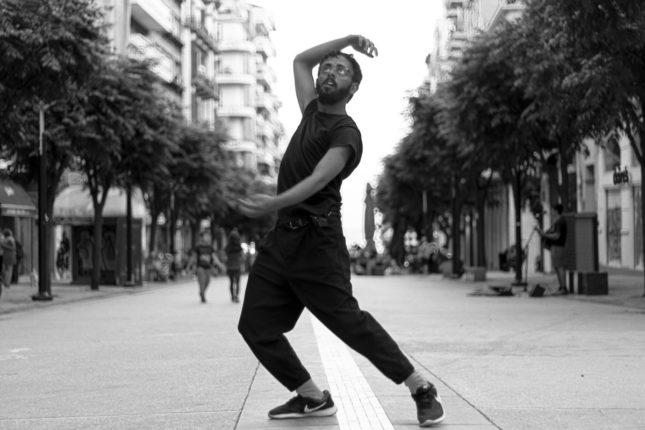 Performance, thessaloniki, dance, street, agia sofia