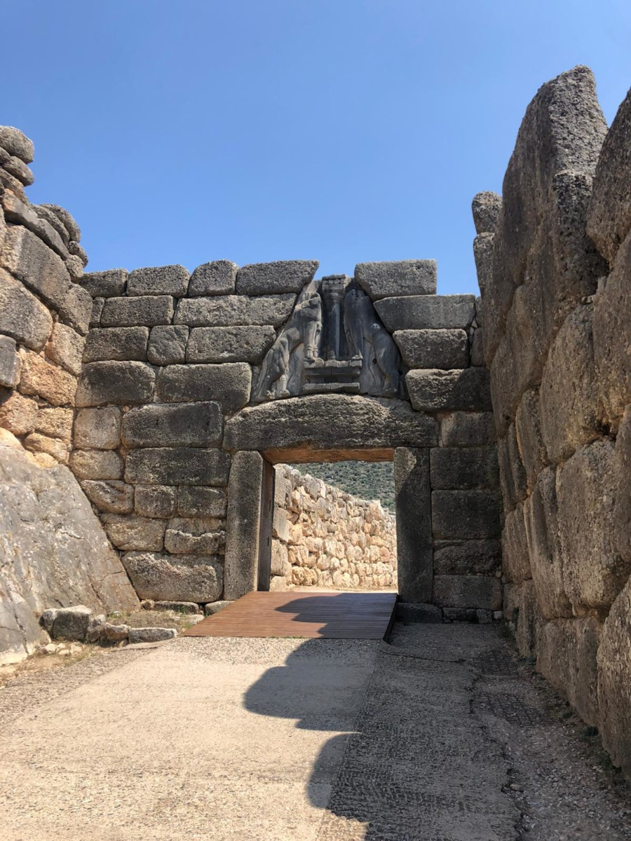 lion gate mycenae