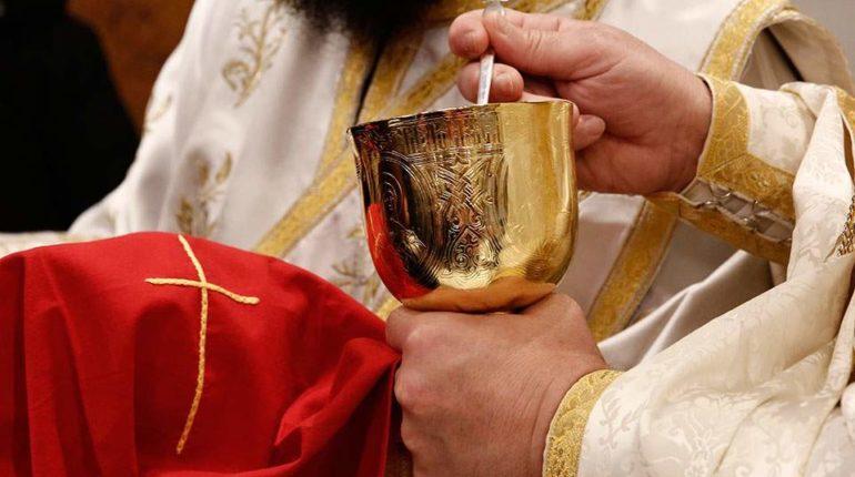greek orthodox communion