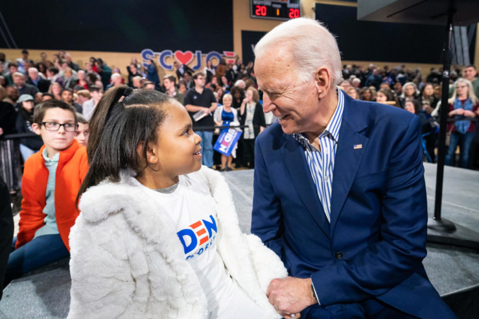Biden, a candidate in favor of racial equality